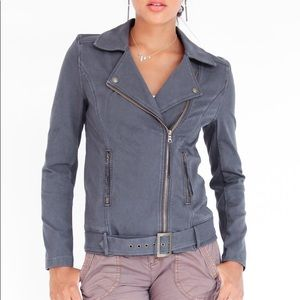 NWT Anthropologie Marrakech Ryder Knit Moto Jacket